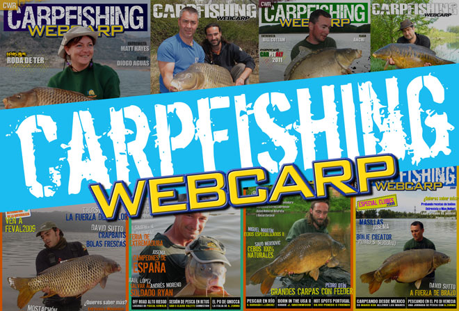 CWR carpfishing webcarp revista