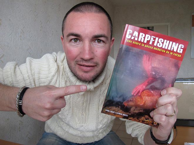Stephane Gonzalez libro carpfishing