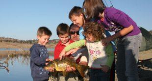Los beneficios de la pesca en niños