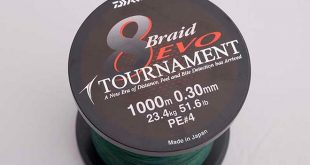 Trenzado Daiwa 8-Braid EVO Tournament