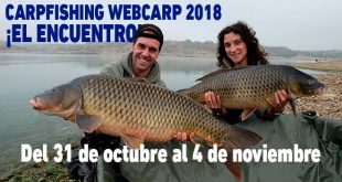 Encuentro Carpfishing Webcarp 2018